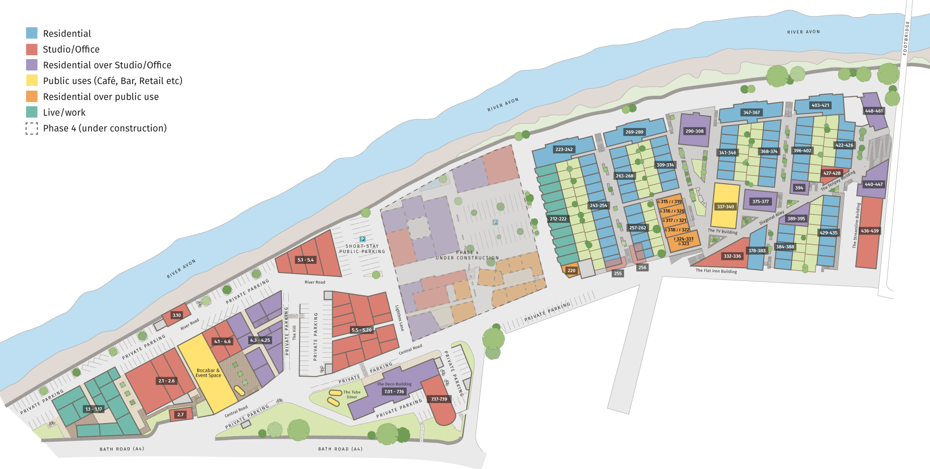 Paintworks Site Plan